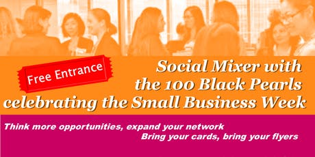 Social Mixer with the 100 Black Pearls tickets