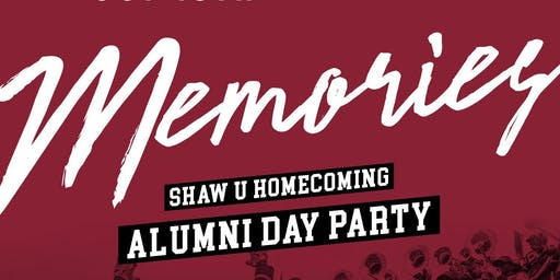 Memories: Shaw U Homecoming Day Party