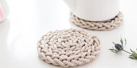 Finger Knit Trivet with Anne Weil tickets