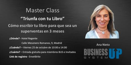 Evento Business Up MADRID (octubre) entradas