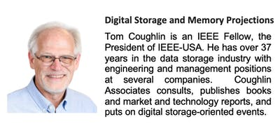 Digital Storage and Memory Projections