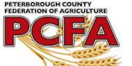 PCFA 2019 AGM tickets
