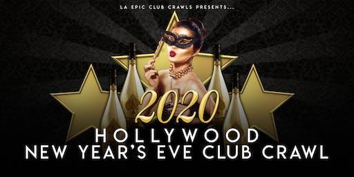 2020 Hollywood New Years Eve Club Crawl