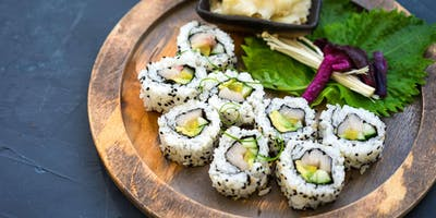 Hand Roll Sushi and More - Team Building by Cozymeal™