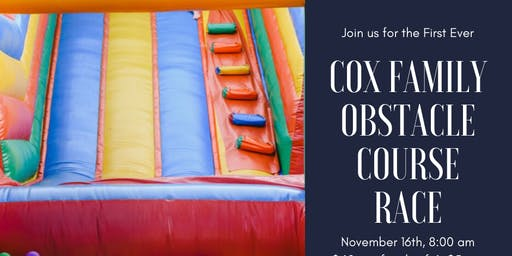 Cox Family Obstacle Course Race