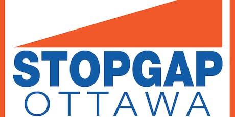 StopGap Ottawa Community Ramp Build Day 1 billets