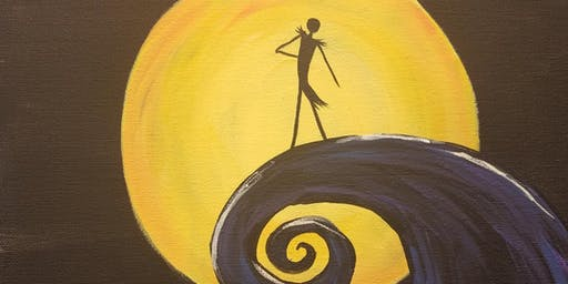 Nightmare Before Christmas Painting Class
