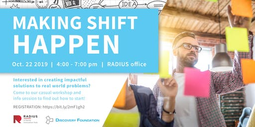 Making Shift Happen: Begin Your Journey in Social Innovation