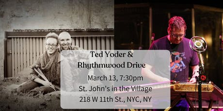 New York City Welcomes Ted Yoder tickets