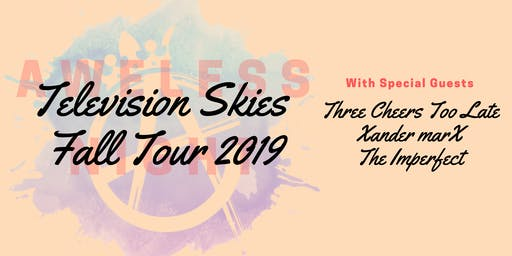 Television Skies Fall Tour @ Boontunes