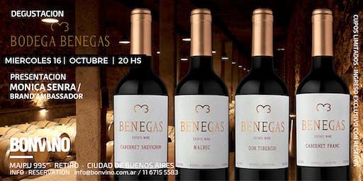 Tasting Benegas Wines