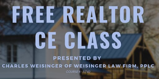 Estate and Probate Planning for Realtors by Charles Weisinger