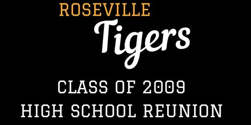 Class of 2009 Roseville High School 10 year reunion