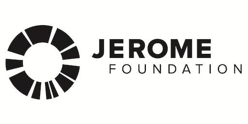 MCBA/Jerome Foundation Book Arts Mentorship opening reception