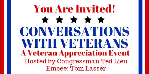 Conversations With Veterans:  A Veteran Appreciation Event