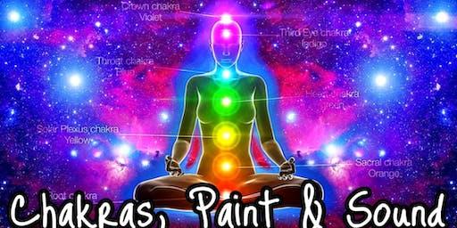 Chakras, Paint & Sound