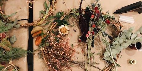 Autumn Wreath Making with Glory Warner from Laurel Botanicals tickets