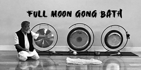 Full Moon Gong Baths, door opens at 3:15pm tickets