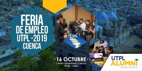 Feria de Empleo UTPL 2019 - Cuenca entradas