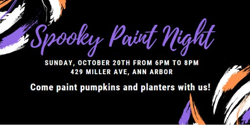 Spooky Paint Night with Bloom City Club
