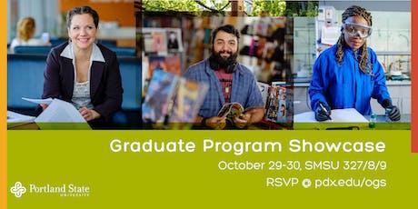 Graduate Program Showcase: October 29 tickets