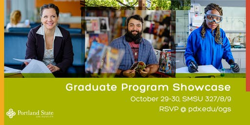 Graduate Program Showcase: October 29