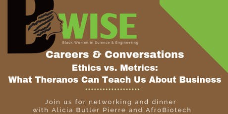 """Black Women in Science and Engineering Presents...""""Careers and Conversations"""" with Alicia Butler Pierre at AfroBiotech tickets"""