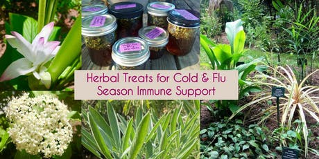 Herbal Treats for Cold and Flu Season tickets
