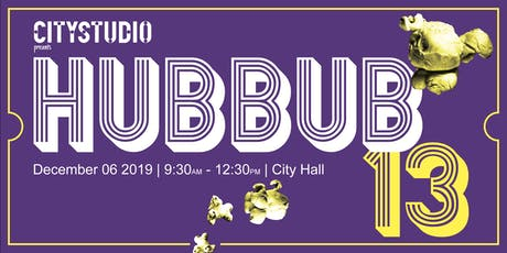 HUBBUB 13: Innovative solutions for the City of Vancouver tickets