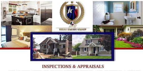 Appraisals & Inspections tickets