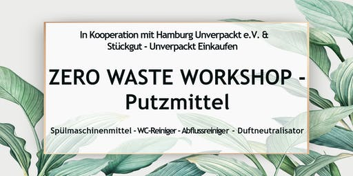 Zero Waste Workshop Hamburg - Putzmittel