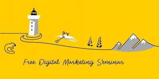 Free Digital Marketing Seminar: Create & Supercharge Your Digital Plan
