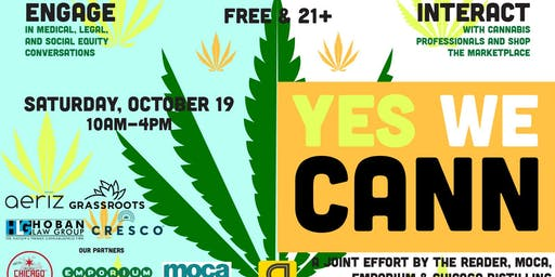 Yes We Cann: Cannabis Market & Symposium presented by the Chicago Reader