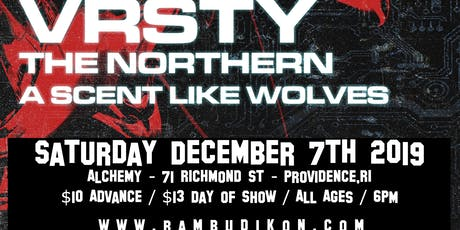 VRSTY / The Northern / A Scent Like Wolves tickets