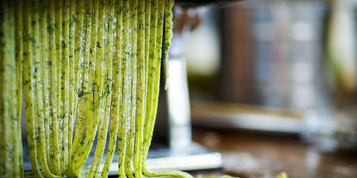Handmade Herbed Fettuccine Pasta - Cooking Class by Golden Apron™