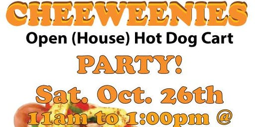 Cheeweenies Hot Dog Cart Party at Bit Baking Co.