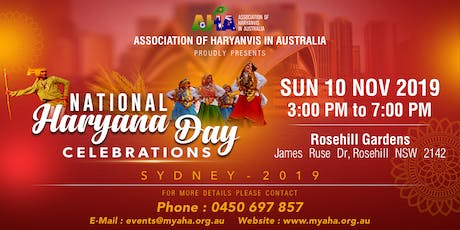 National Haryana Day Celebrations tickets