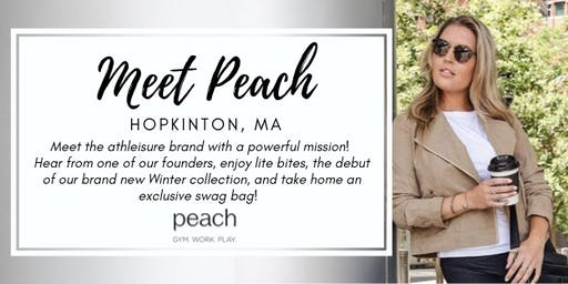 Meet Peach | Hopkinton, MA