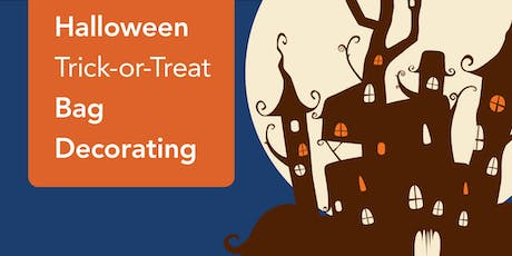 Halloween Trick-or-Trick Bag Decorating (Brentwood) tickets