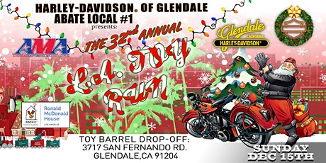 The 32nd Annual L.A. Toy Run tickets