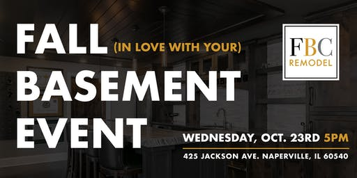 "Open House: ""Fall in Love With Your Basement"""