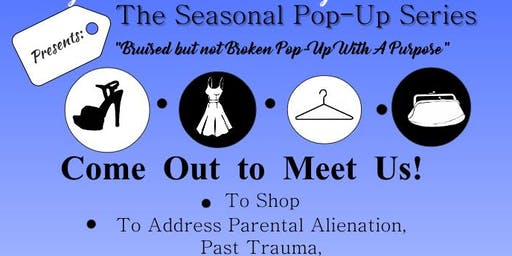 Vintage Mod Mix & Closet Savvy Consignment present the Bruised but not Broken Pop-Up Series