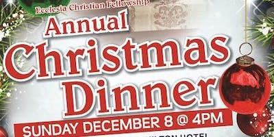 ECF's 2019 Christmas Dinner