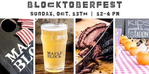 3rd Annual BlocktoberFest by Maple Block