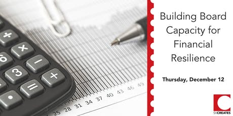 Building Board Capacity for Financial Resilience tickets