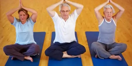 Yoga for Seniors- Mindful,Thereupathic Relaxing tickets