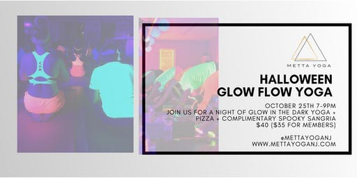 Halloween Glow Flow Yoga at Metta Yoga