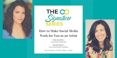 TAC Signature Series: How to make Social Media work for you as an Artist!