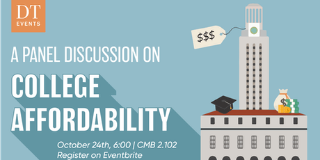 Panel Discussion on College Affordability tickets