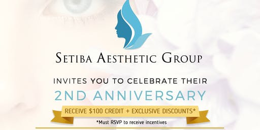 Setiba Aesthetics Group - 2nd Anniversary